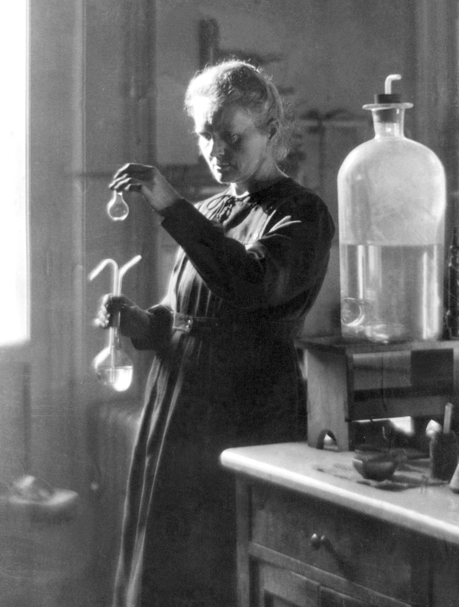 Marie curie real name