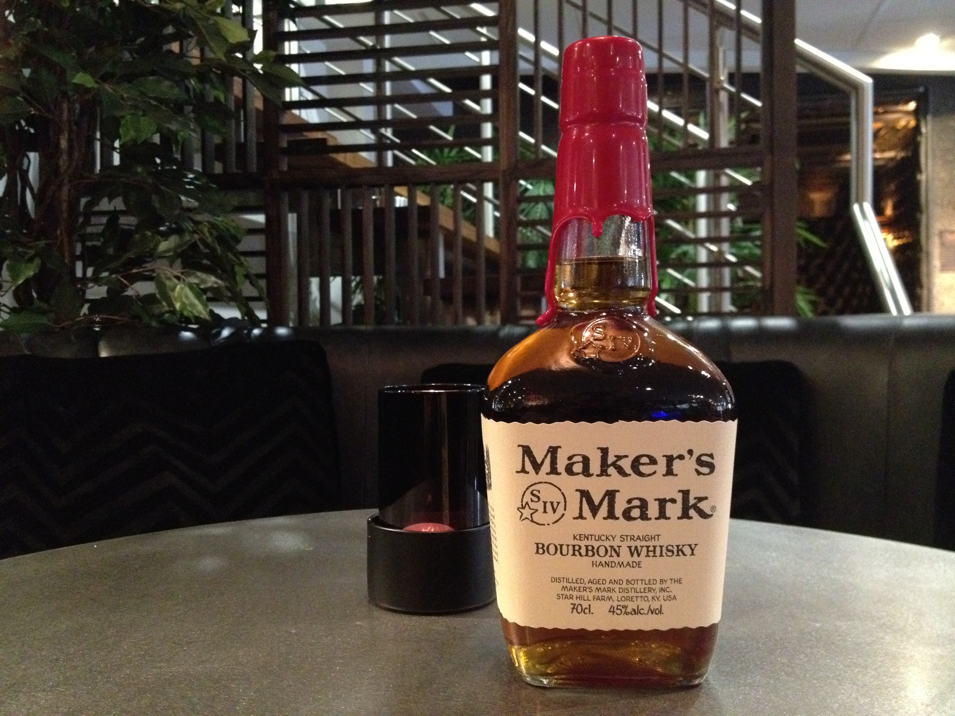 Makers mark and dr pepper