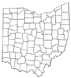 Zip code for danville ohio
