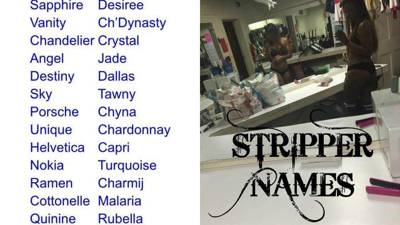 Stripers names