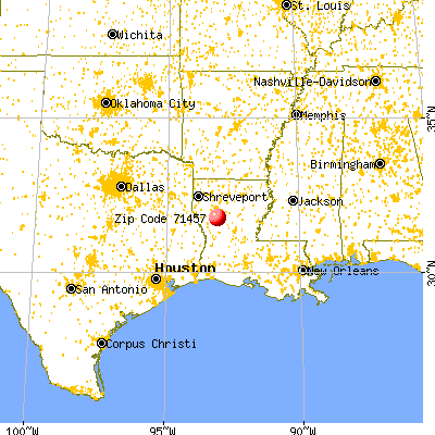 Natchitoches area code