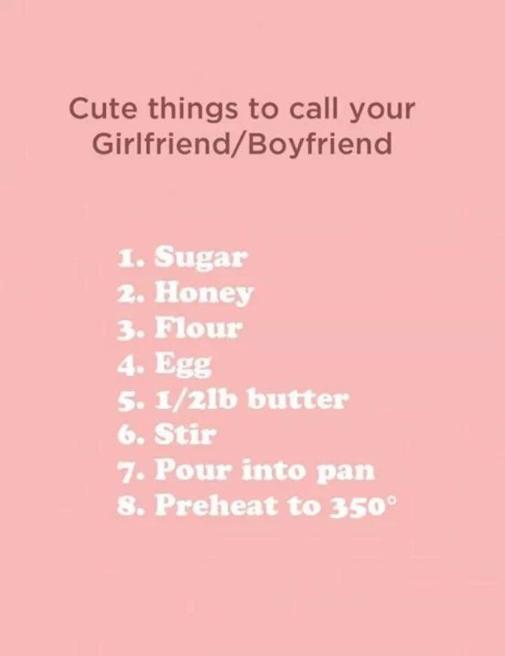 Cute nicknames for bf and gf. Cute nicknames for bf and gf.