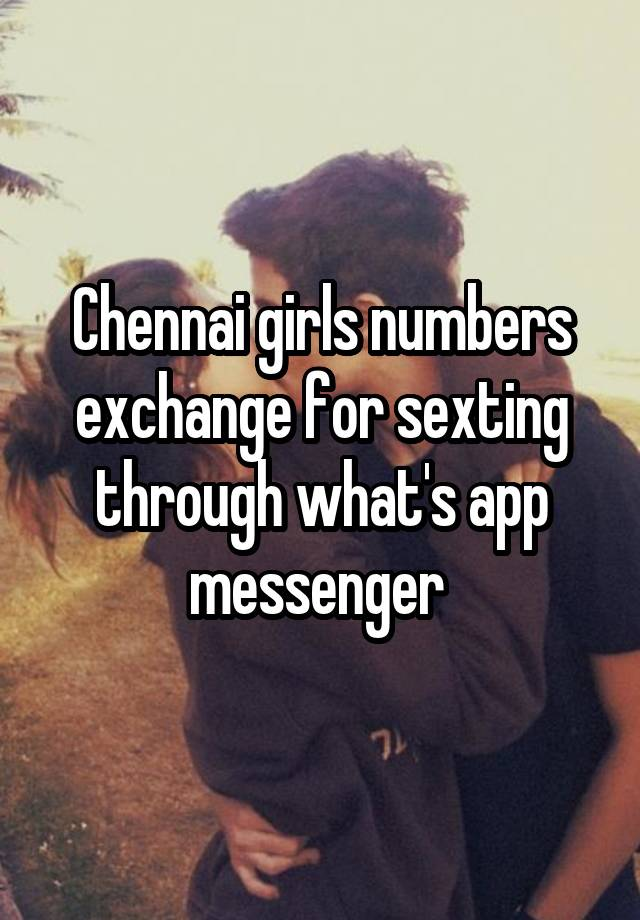 Sexting numbers exchange