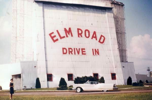 Elm road drive in theater