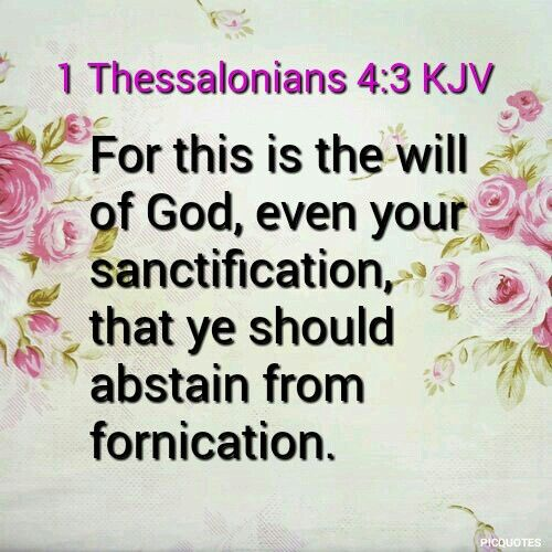 Fornication in bible verse