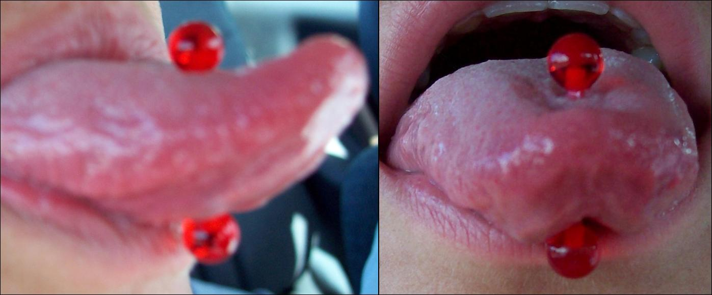 Mens tongue bars
