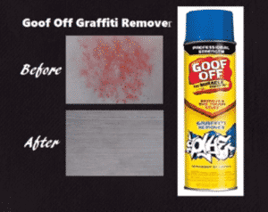 Paint thinner remove spray paint