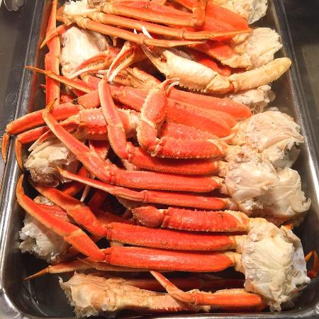 All You Can Eat Crab Legs At Potawatomi