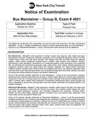 Mta cleaner exam