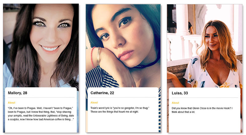 Bumble dating profile examples. Bumble dating profile