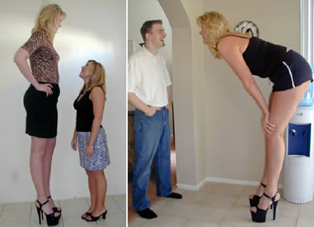 7ft tall woman